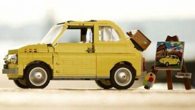 Photo of Fiat e Lego montam 500F Lego Creator com 960 peças