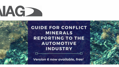 Photo of Version 6 now available…get your free copy of the Guide for Conflict Minerals Reporting to the Automotive Industry today!